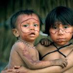 ヤノマミ族のかわいい子どもたち