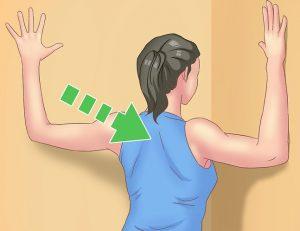 巻き肩を肩甲骨のストレッチで治す