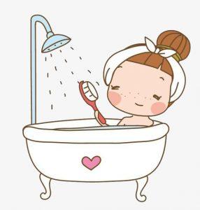 お風呂で血行改善肩こり腰痛対策