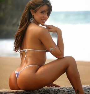 ブラジル人女性のお尻は大きい