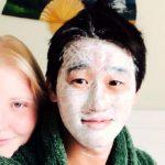 外国美女と付き合うキヨキヨ