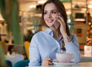 外国美女とコーヒーデート