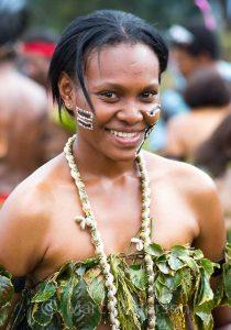 パプアニューギニアの女性 日本人おいしい