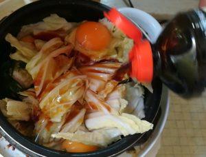 AL COLLE(アルコレ)の電子圧力鍋 卵にめんつゆ